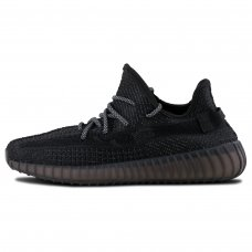 Унисекс Adidas Yeezy Boost 350 V2 Static Reflective Black
