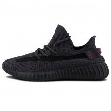 Унисекс Adidas Yeezy Boost 350 V2 Reflective Black Static