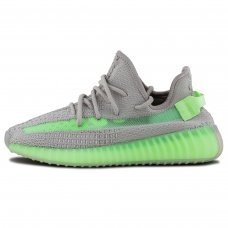 Унисекс Adidas Yeezy Boost 350 V2 Grey/Green