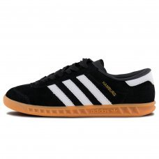 Фотография 1 Унисекс Adidas Originals Hamburg Core Black White Gum