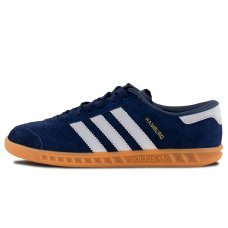Унисекс Adidas Hamburg OG New Navy & Running White