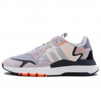 Фотография 1 Унисекс Adidas Nite Jogger Grey Two Solar Orange