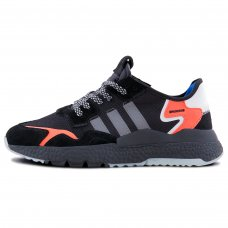 Фотография 1 Унисекс Adidas Nite Jogger Core Black Carbon Orange