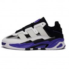 Фотография 1 Унисекс Adidas Niteball White/Black/Purple