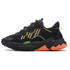 Мужские Adidas Ozweego Black/Orange/Green