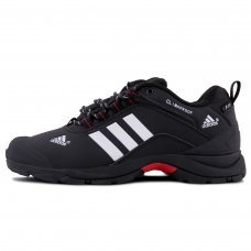 Зимние Adidas Terrex Climaproof Low Black/White With Fur
