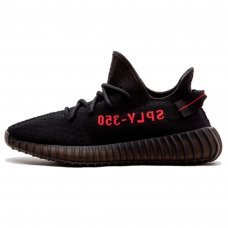 Унисекс Adidas Yeezy Boost 350 V2 by Kanye West Core Black/Red On/Core Black