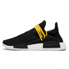 Унисекс Adidas NMD Human Race Black/White/Yellow