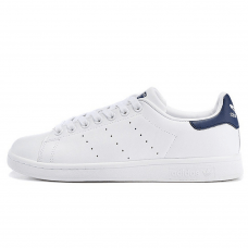 Унисекс Adidas Stan Smith White/Deep Blue