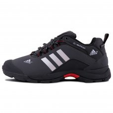 Зимние Adidas Terrex Climaproof Low Dark Grey/White With Fur
