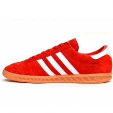 Фотография 1 Унисекс Adidas Hamburg Suede Red White